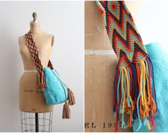 Wayuu Bag - Hand woven Mochila Bag - Bohemian Mochila Bag