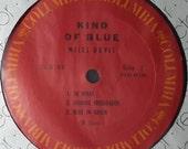 Miles Davis Kind Of Blue Columbia Records CS 8163 Vinyl Reissue 1971