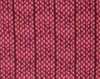 15054 - Anna Maria Horner PWAH102  Fibs & Fables Plaited in Magenta color - 1 yard