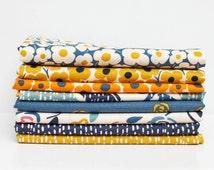 Asuka from Dear Stella Fabrics Bundle - Fat Quarter Bundle - 8 fat quarter pieces (B369)