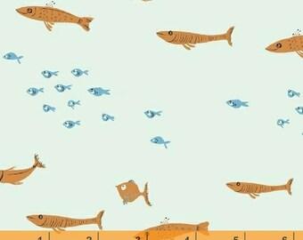 Mendocino - Swim Class Blue by Heather Ross from Windham Fabrics