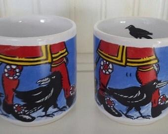 Tower of London Souvenier Mugs