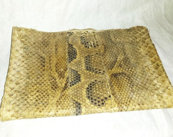 French Antique Book Cover Snake Skin Galleries Lafayette Paris