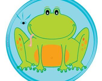 Bright Frog Invitation - Printable PDF