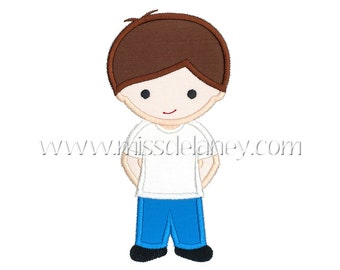 Boy Applique Design
