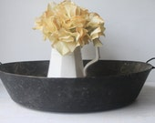 Antique Tin Pan, Bowl