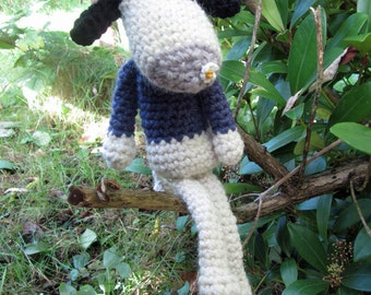 Daisy - a hand crocheted cow!
