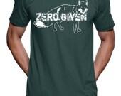 Zero Fox Given T Shirt - American Apparel mens T shirt - S M L Xl and Xxl (Color Options)