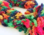 Fuzzy Rainbow LGBT Scarf Gay Pride Gift