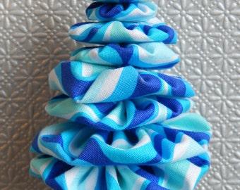 Blue & White Christmas Tree Ornament
