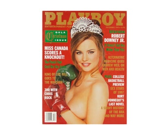 Playboy Magazine - Vintage December 1997