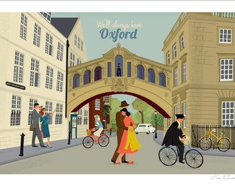 Oxford A4 Giclée Fine Art Print - Bridge of Sighs