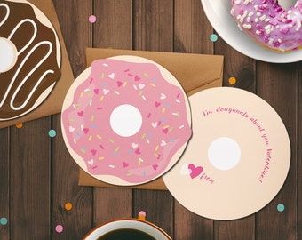 Doughnuts About You Valentine!