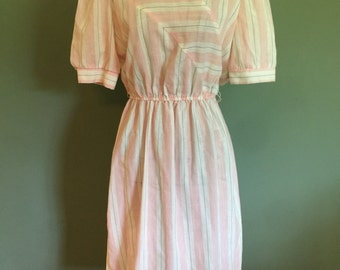 Vintage Pink dress, Size XS/S