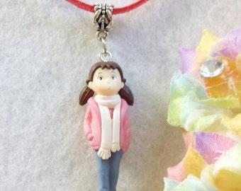 Little Girl Figurine Necklace