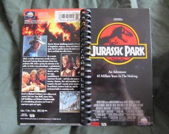 Jurassic Park VHS Tape Box Notebook