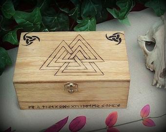 Valknut Keepsake Box