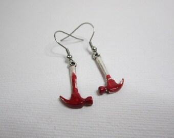 Bloody Hammer Earrings