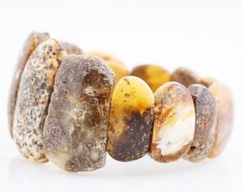 Natural Unique Baltic Amber  Bracelet