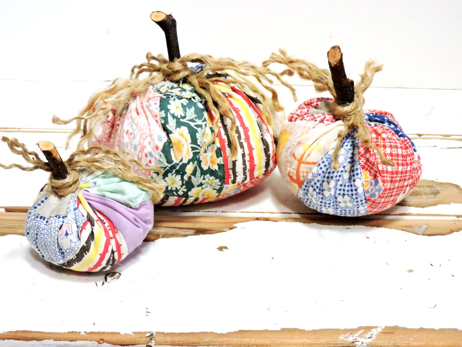 Primitive Fabric Pumpkins Autumn Fall by ITSYOURCOUNTRY on ...