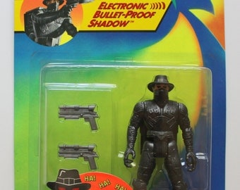 Vintage The Shadow Electronic Bullet-Proof Action Figure 1994