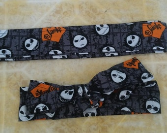 Jack Nightmare Before Christmas Fabric Headband. Only one in stock! Last one