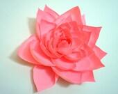 "8"" Crepe Paper Gardenia"