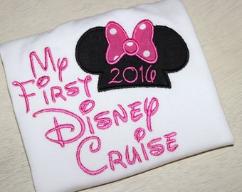 Minnie Mouse Inspired My First Disney Cruise Vacation Shirt
