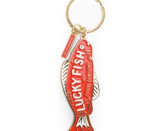 Fortune Fish Keychain