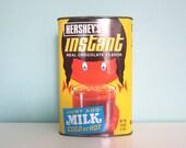 Hershey's Girl Tin - Hershey's Boy Tin - Hershey's Instant Tin