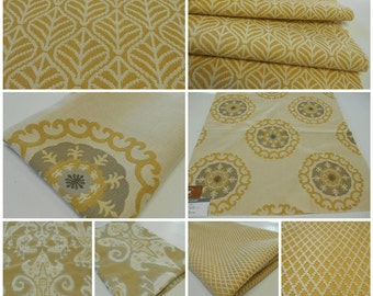 Kravet-Fabric-Upholstery Fabrics- Contemporary Fabric-Yellows- Jacquards-pc 23inx23in