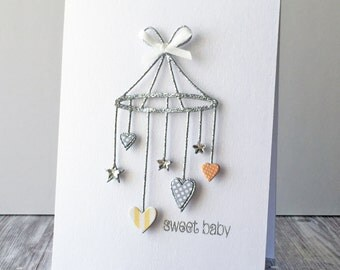 Sweet Baby Mobile Card