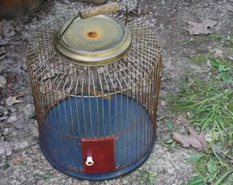 Vintage Birdcage - Wedding Decor - Metal - Home Decor