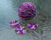 LAST AMOUNT - Perle Cotton - Size 5 - Hand Dyed - Ice Cream Sundae - Embroidery Thread - Your Choice of Length - HDT