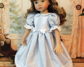 RESERVED Silk Dupioni Heirloom Dress for Dianna Effner 13 Inch Little Darling Doll