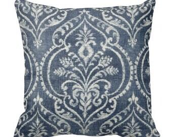 decorative pillows, pillow covers, blue pillows, couch pillows, euro shams, bed pillows, throw pillows, traditional decor, accent pillows