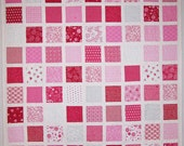 Valentine Day Quilt with Surrounded by Love fabric collection by Deb Strain for Moda