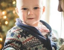 Baby Boy cardigan Sweater-Baby Winter Sweater-Boys Cardigan Sweater-Boys Cardigan-Nordic Sweater