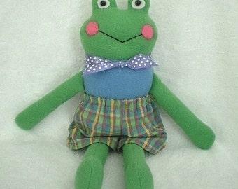 Freddie The Frog Soft Cuddly Toy