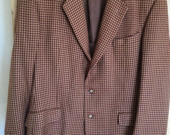 GUCCI: Men's Vintage Wool Jacket Large