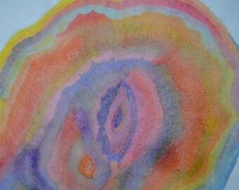 Art Through Evaporation - Mineral Deposits