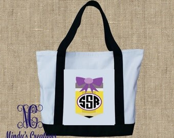 Teacher/Personalized Tote Bag
