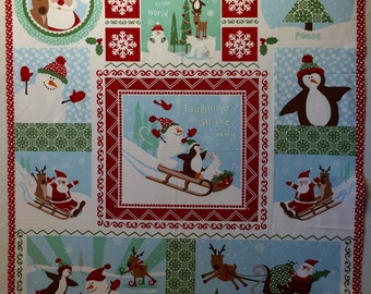 Joy by Kate Spain - Moda Fabric - Laughing All The Way - Out of Print