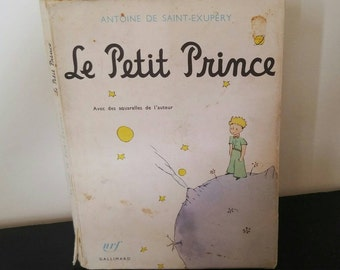 Vintage French Children's Classic - The Little Prince - First Edition 1971 Printing