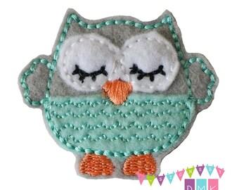 Mint green owl | Etsy