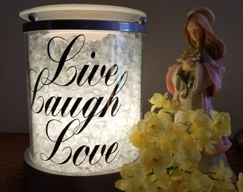 Live Laugh Love Decal for Candle Warmer (Decal Only)