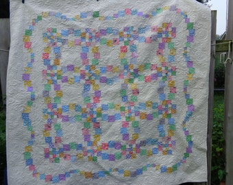 30's Reproduction lap Quilt, Reproduction Quilt, 0805-04
