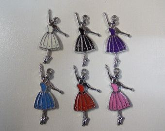 32mm 6CT, Variety Pack, Ballerina Charms, (Y22)