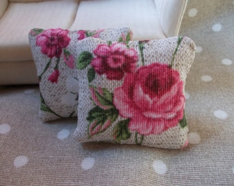 shabby chic cushions set,, 1.6 scale