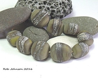 York Pebbles, Lampwork Pebble Beads, SRA, UK